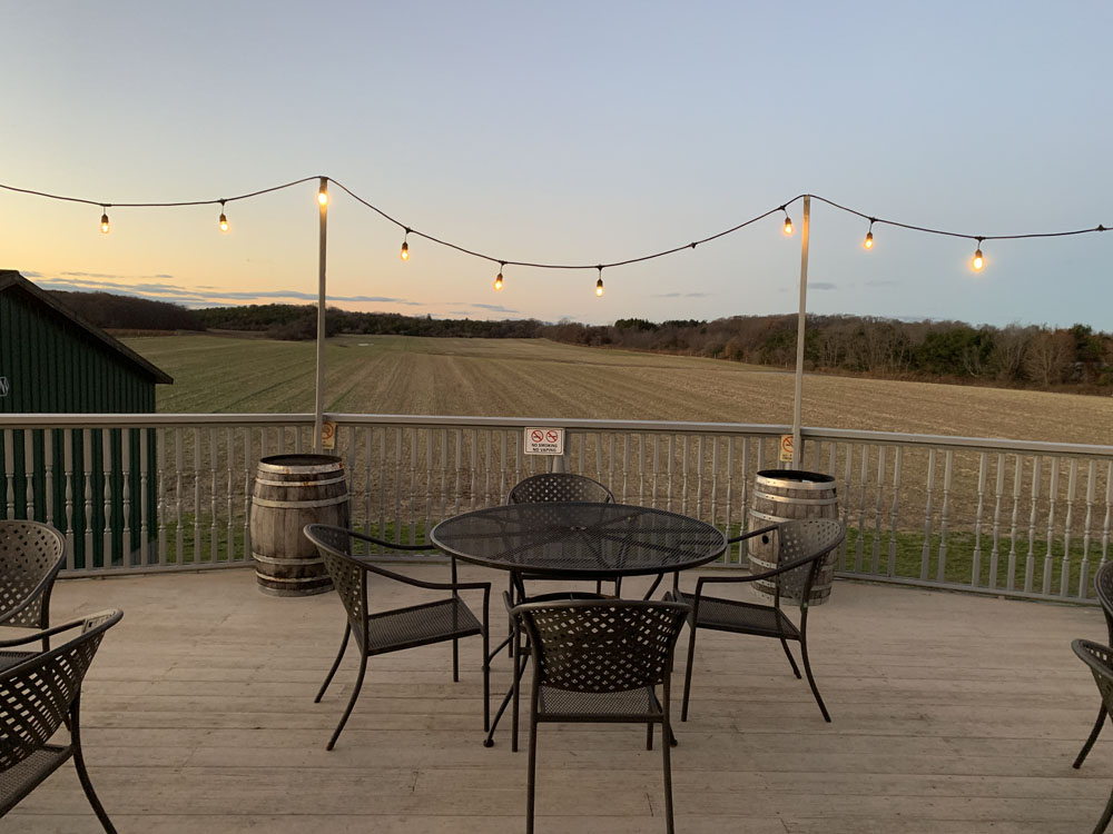 Outdoor Balcony View